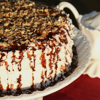 Layered Cake with Almonds and Coconuts