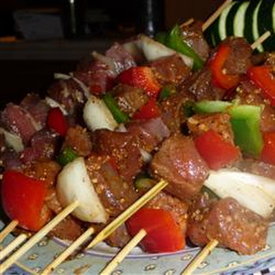 Awesome Spicy Beef Kabobs OR Haitian Voodoo Sticks