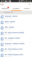 Screenshot of Manilla - Bills and Reminders