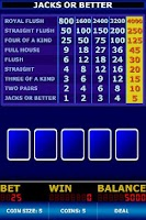 Screenshot of Video Poker Classic Free