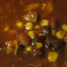 Southwestern Chicken and Bean Soup (Crock Pot)