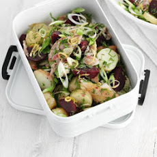 Mackerel & Potato Salad With Lemon Caraway Dressing
