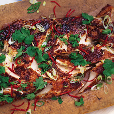Marinated & Grilled Salmon