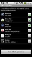 Screenshot of DefaultApp Reset