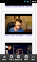 Screenshot of Squeezie Fan n°1