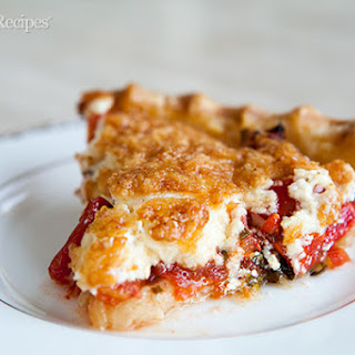 No Crust Tomato Pie Recipes