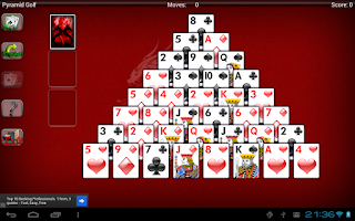 Screenshot of Solitaire World Free