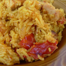 Prawn and Bacon Fried Rice