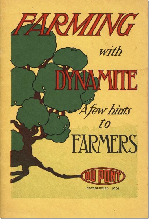 Farming with dynamite cover