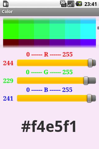 RGB value