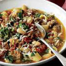 Sausage-and-Broccoli Rabe Stoup
