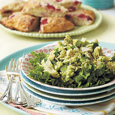 Chicken, Artichoke, and Rice Salad