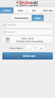 Screenshot of Online Otobüs Bileti