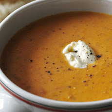 Decadent Tomato and Mascarpone Soup