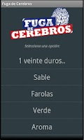 Screenshot of Fuga de Cerebros