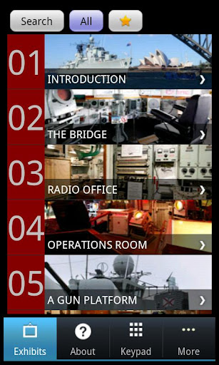 【免費教育App】ANMM's HMAS Vampire tour-APP點子