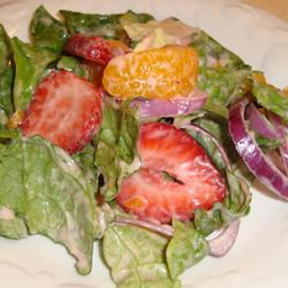 Strawberry Romaine Salad II