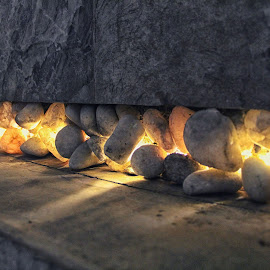 Gold Quartz by Kasun Lakmal - Nature Up Close Rock & Stone ( nature, art, stone, rock, photography )