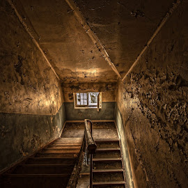 One step at a time. old mental hospital by Kai Brun - Buildings & Architecture Architectural Detail