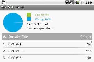 Screenshot of CMC Cardiac Exam Prep