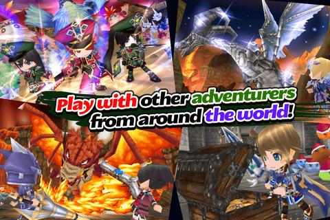 RPG Elemental Knights(3D MMO) Screenshot 3