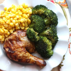 Brown Sugar Spiced Roast Chicken