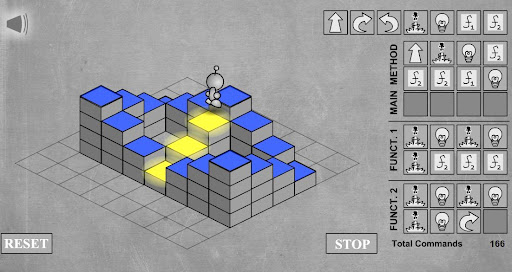 Light bot a game click for details lightbot flash loops strategywiki