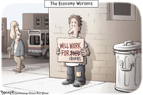 Economy Worsens