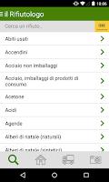 Screenshot of il Rifiutologo