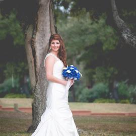 Southern Bride by Lauren Holliman - Wedding Bride ( southern, matte, bride, oak tree, mississippi )