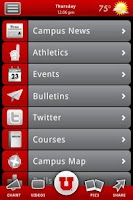 Screenshot of University of Utah