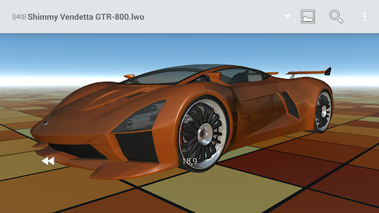 Buf3D 3d and lego model viewer - screenshot