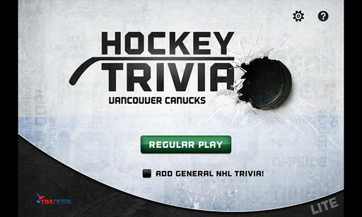 【免費解謎App】Hockey Trivia Lite-Canucks-APP點子