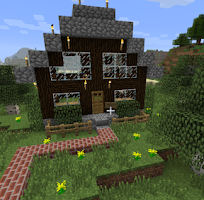 Screenshot of House Ideas Minecraft PE