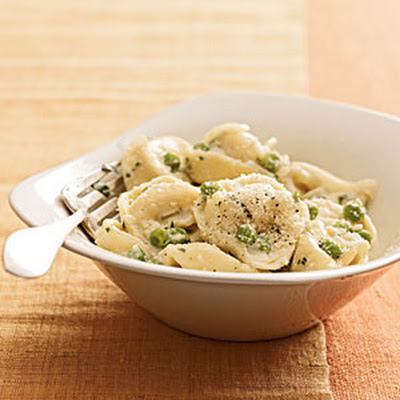 Creamy Tortellini With Peas