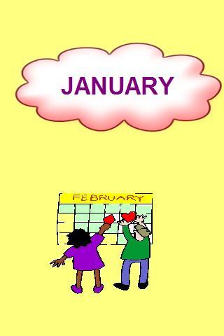 Kindergarten - Months of year