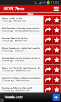 Screenshot of MUFC News