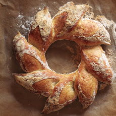 Holiday Bread Wreath
