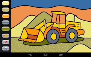 Screenshot of Zebra Paint Pro Coloring App