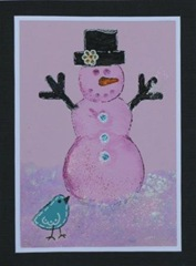 Lynn Roberts 30 Foam Stamp Snow Bird