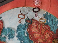 Lynn Roberts Tray and Glass Charms