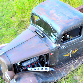 Areal View by Kevin Dietze - Transportation Automobiles ( street rod, custom rod, rat rod, resto rod, hot rod )