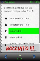 Screenshot of Test Università