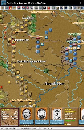 Civil War Battles - Franklin - screenshot