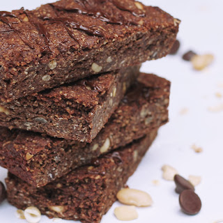 Chocolate Bean & Oat Bars