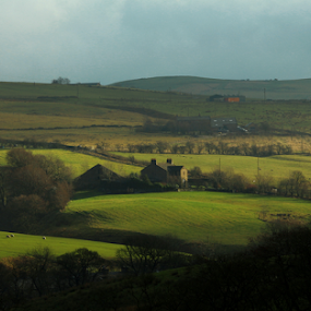 Rossendale  by Alina Jumabhoy - Landscapes Prairies, Meadows & Fields ( countryside, hills, nature, lancashire, green, beauty, view, landscape, spring, fields )