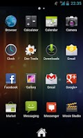 Screenshot of Zeam Launcher