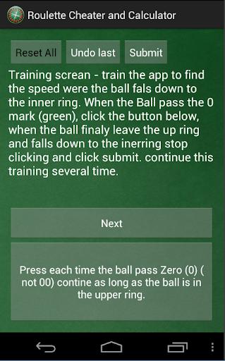 Roulette Predictor & Calc Pro - screenshot