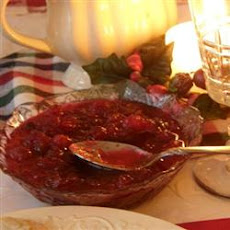 Brandied Orange and Cranberry Sauce