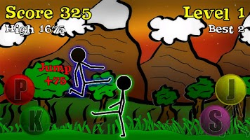 Screenshot of Sticky Ninja HD